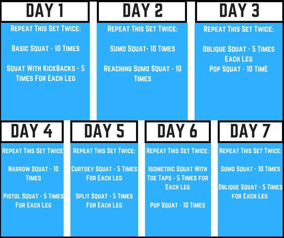7 Day Training Program