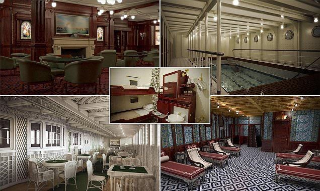 Take A Look Inside An Identical Replica Of The Titanic