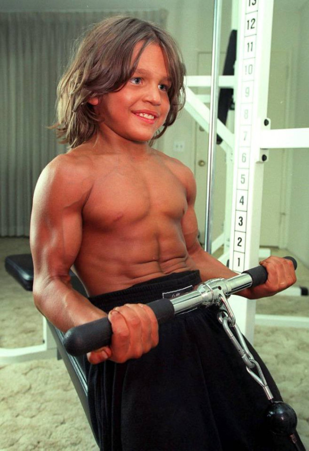 remember the kid bodybuilder with six pack abs at age of